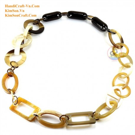 Natural horn necklace - Model 0096
