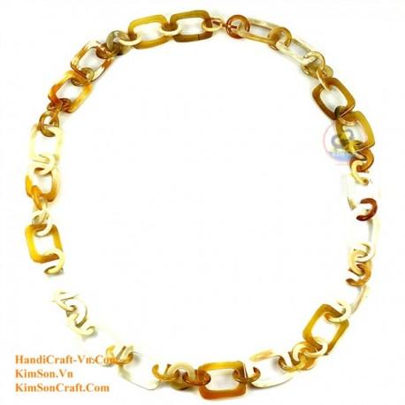 Природные ожерелье рог - Модель 0098