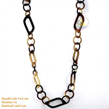 Природные ожерелье рог - Модель 0099