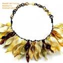 Naturhorn Halskette - Model 0100