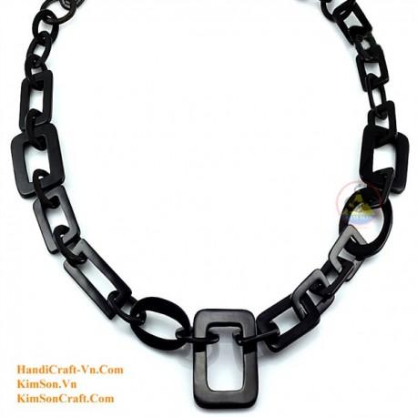 Природные ожерелье рог - Модель 0101