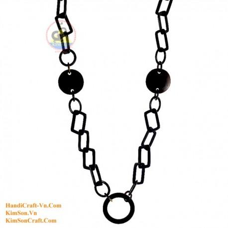 Природные ожерелье рог - Модель 0103