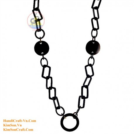 Natural horn necklace - Model 0103