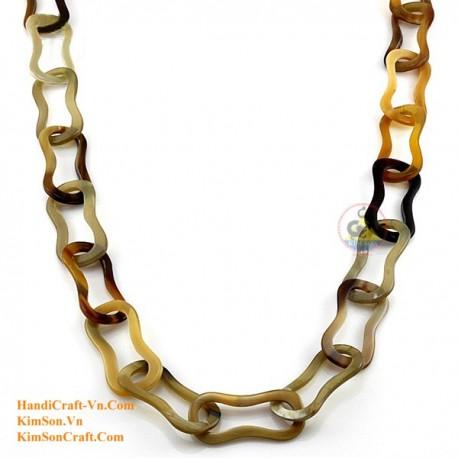 Природные ожерелье рог - Модель 0107