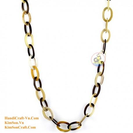 Naturhorn Halskette - Modell 0104