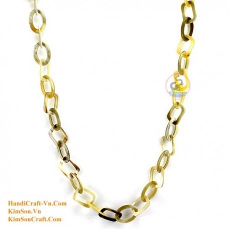 Природные ожерелье рог - Модель 0109