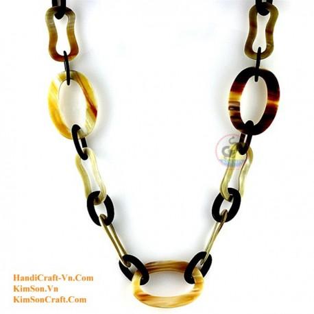 Природные ожерелье рог - Модель 0112