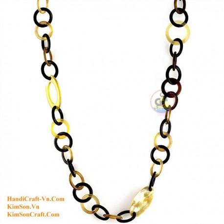 Природные ожерелье рог - Модель 0113