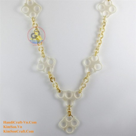 Natural horn necklace - Model 0115