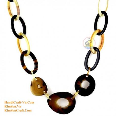 Природные ожерелье рог - Модель 0117