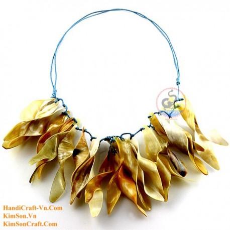 Природные ожерелье рог - Модель 0118