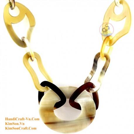 Природные ожерелье рог - Модель 0121