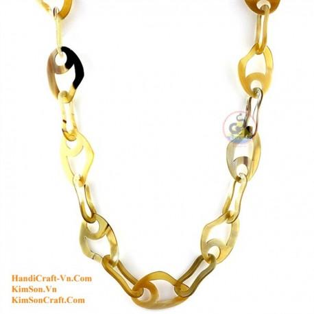 Природные ожерелье рог - Модель 0122