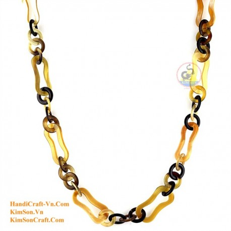Natural horn necklace - Model 0123