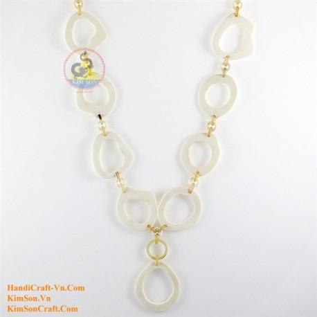 Природные ожерелье рог - Модель 0125