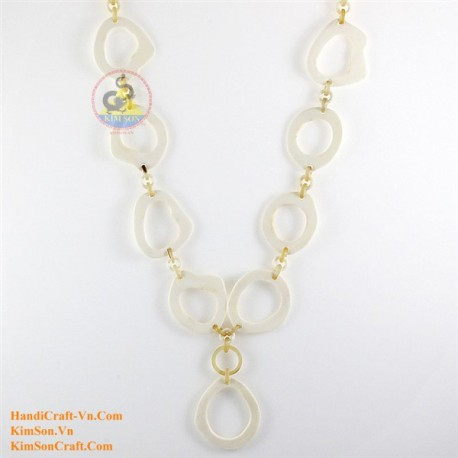 Natural horn necklace - Model 0125