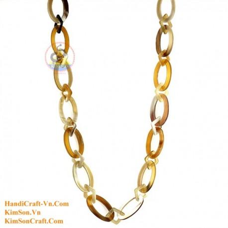 Природные ожерелье рог - Модель 0126