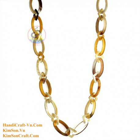 Natural horn necklace - Model 0126