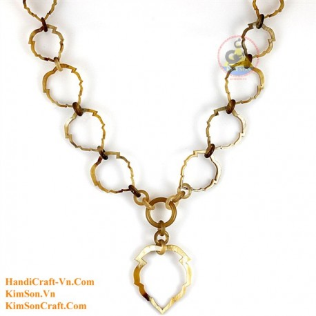 Natural horn necklace - Model 0128