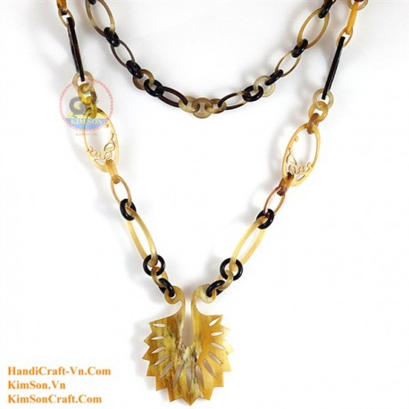 Natural horn necklace - Model 0129
