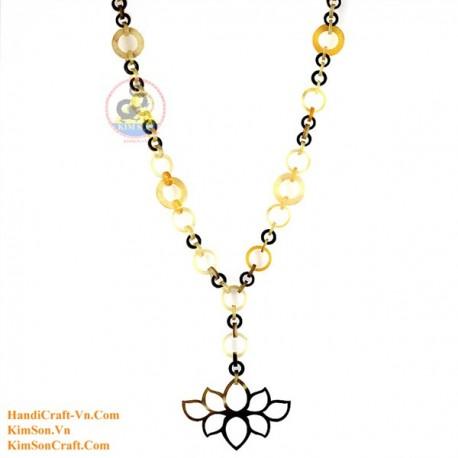 Природные ожерелье рог - Модель 0132