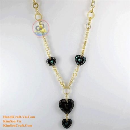 Природные ожерелье рог - Модель 0134