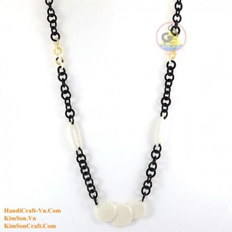 Природные ожерелье рог - Модель 0135