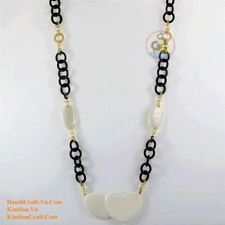 Природные ожерелье рог - Модель 0137