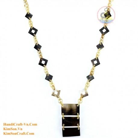 Природные ожерелье рог - Модель 0138