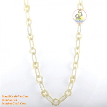 Natural bone necklace - Model 0139