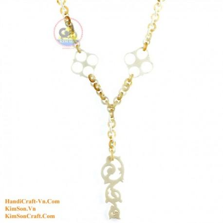 Природные ожерелье кости - Модель 0140