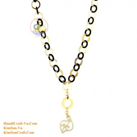 Природные ожерелье рог - Модель 0144