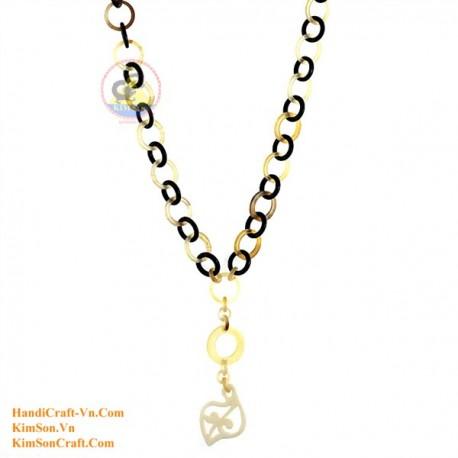 Natural horn necklace - Model 0144
