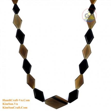 Природные ожерелье рог - Модель 0145