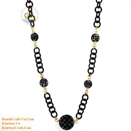 Природные ожерелье рог - Модель 0146