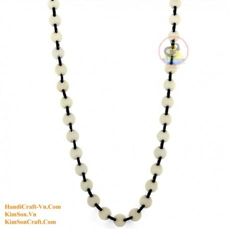Природные ожерелье рог - Модель 0147