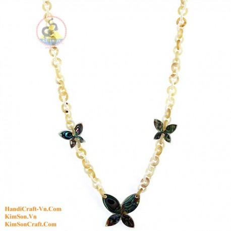 Природные ожерелье рог - Модель 0148