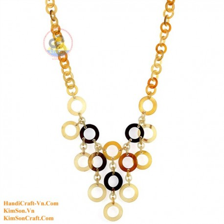 Natural horn necklace - Model 0149