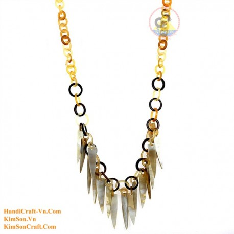 Natural horn necklace - Model 0150
