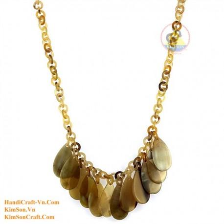 Natural horn necklace - Model 0152