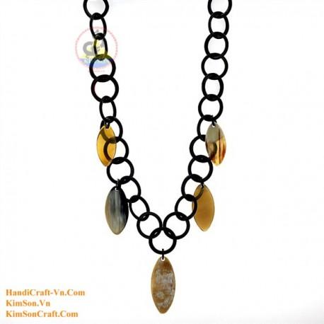 Natural horn necklace - Model 0154