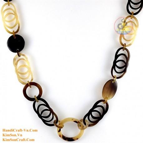 Природные ожерелье рог - Модель 0155