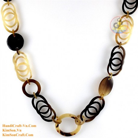 Natural horn necklace - Model 0155