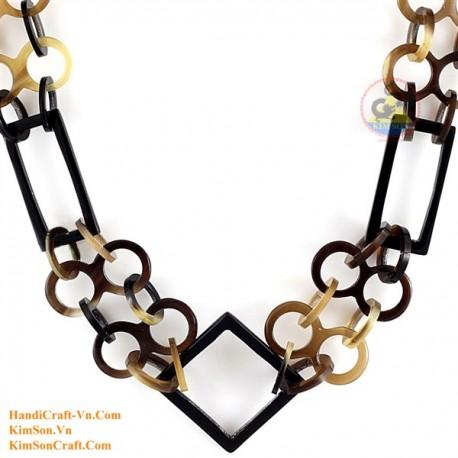 Природные ожерелье рог - Модель 0156