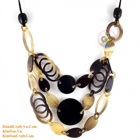 Natural horn necklace - Model 0157