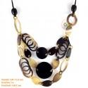 Природные ожерелье рог - Модель 0157