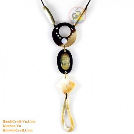 Natural horn necklace - Model 0159