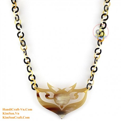 Natural horn necklace - Model 0112