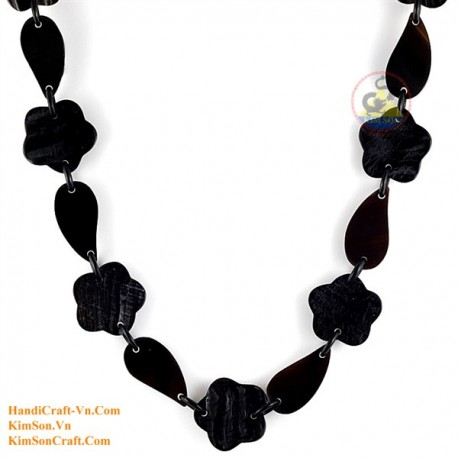 Natural horn necklace - Model 0165