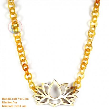 Природные ожерелье рог - Модель 0167